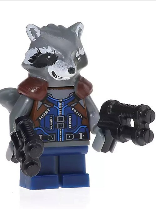 Racoon in clothes