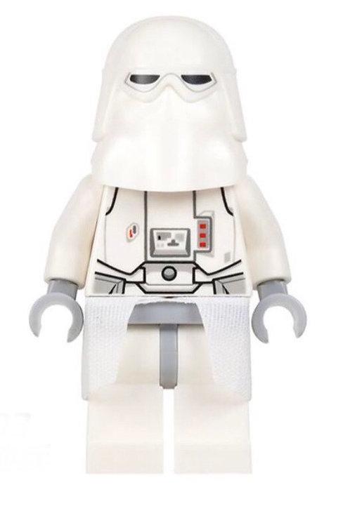 White Snow trooper