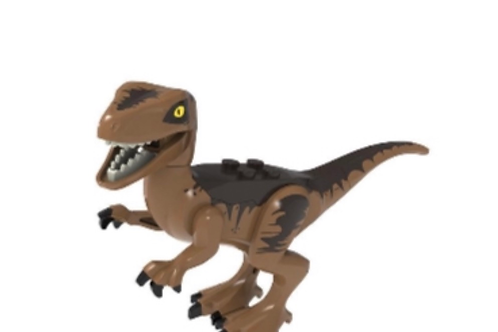 Dark Brown Dino - Large