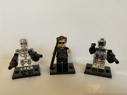 Trio of robots
