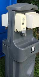 double sink,Portable restroom rentals, Porta Potty, portable toilets, rent a porta potty