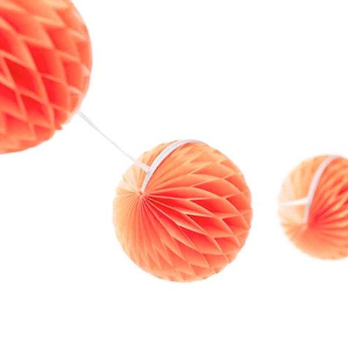 Coral Honeycomb Garland