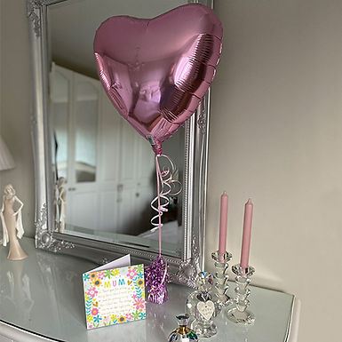 Thank you Mum Mother's Day Card and Balloon Combo