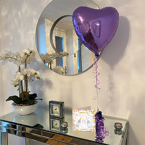 Mothers Day Card and Balloon Combo
