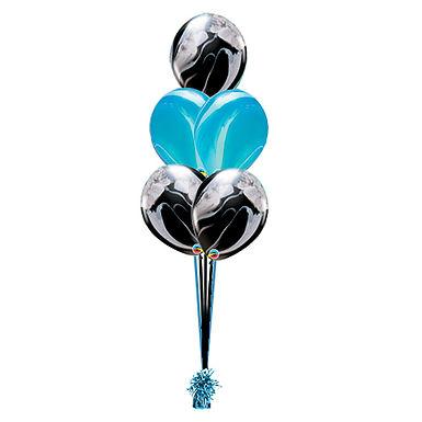 SuperAGate 5 Balloon Bouquet