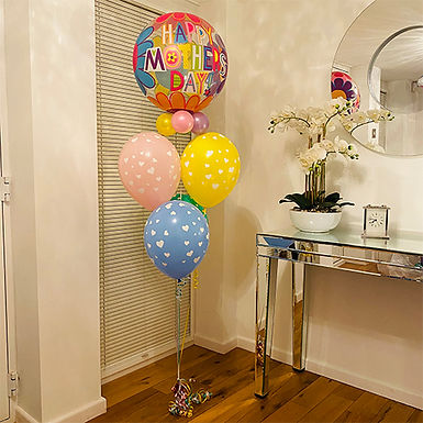 A Bouquet of Love For Mother's Day Helium Filled