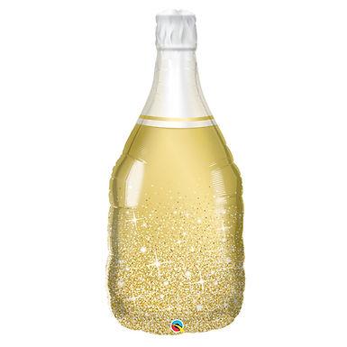 Gold Sparkle Bottle Supershape