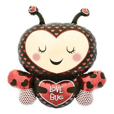 Love Bug Foil Balloon