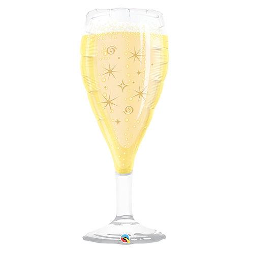 Champagne Glass Supershape Balloon