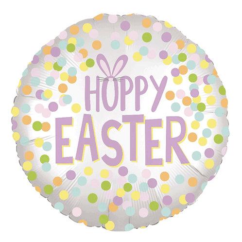 Hoppy Easter 18inch Foil Balloon