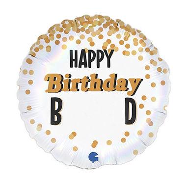 Happy Birthday B*****d Foil Balloon