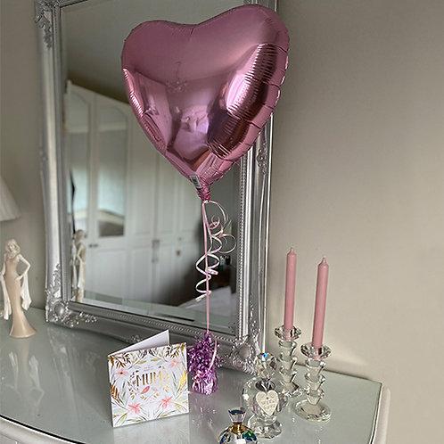 Most Beautiful Mum Card and Balloon Combo
