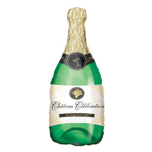 Celebrate Champagne Bottle Supershape Balloon