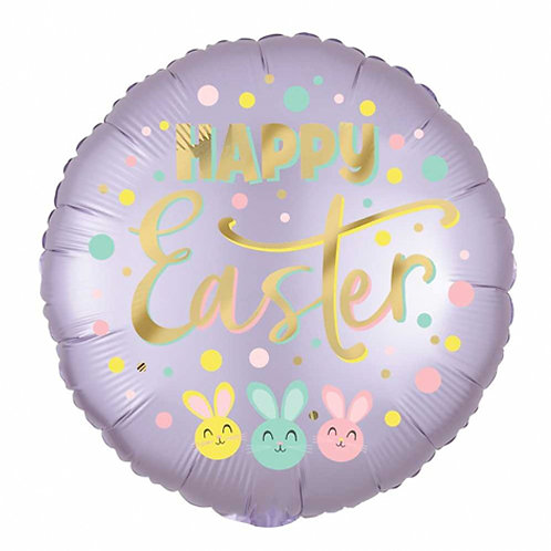 Happy Easter 18inch Foil Balloon