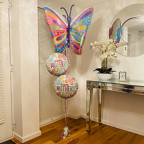 You Make It Look Easy! Butterfly Bouquet Helium filled