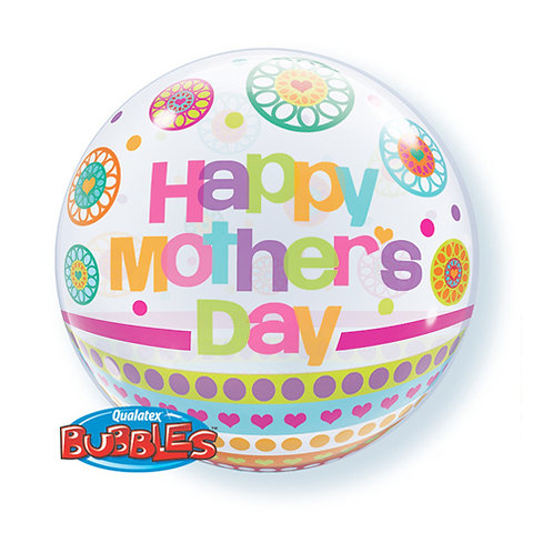 Happy Mother's Day Bubble Balloon