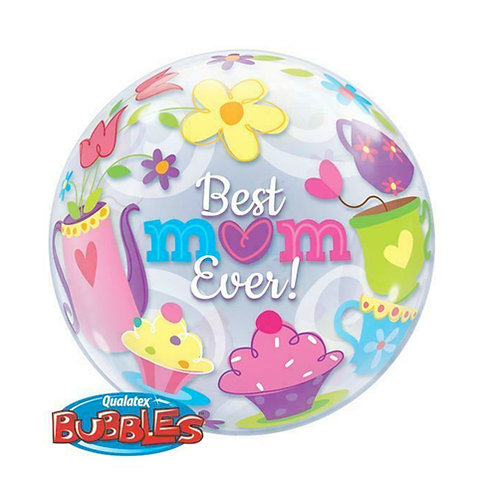 Best Mum Ever Bubble Balloon