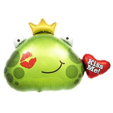 Kiss Me Frog Shape Balloon
