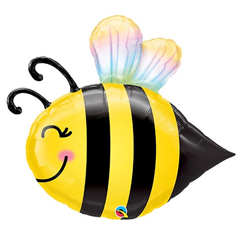 Bumble Bee Supershape Balloon Helium Filled