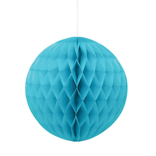 Teal Honeycomb Ball