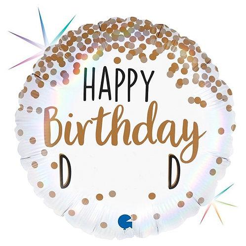 Happy Birthday D**khead Foil Balloon