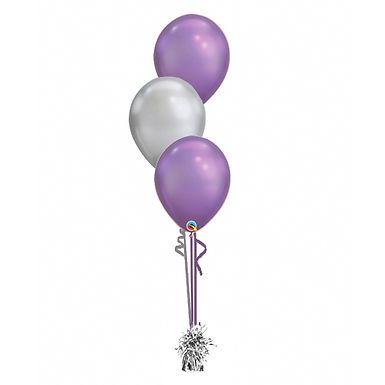 Chrome 3 Balloon Bouquet