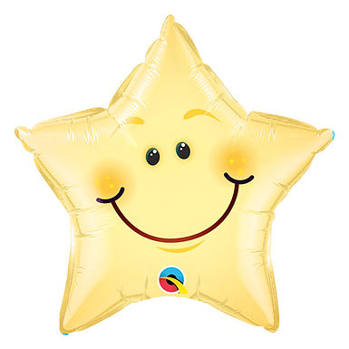 Smiling Star Balloon