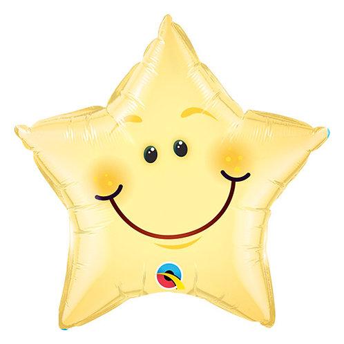 Smiling Star Balloon