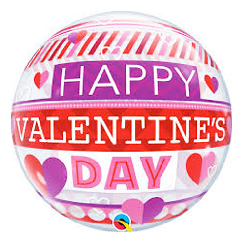 Happy Valentine's Day Bubble Balloon