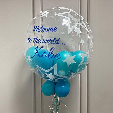 Stars Gumball Bubble Balloon
