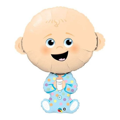 Baby Boy Supershape Balloon
