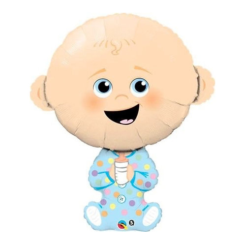 Baby Boy Supershape Balloon