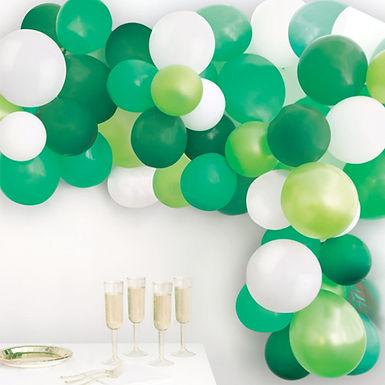Green Balloon Arch Kit