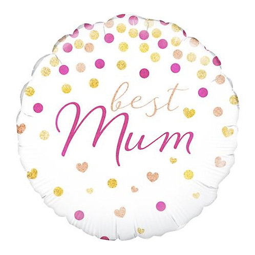 Best Mum Foil Balloon