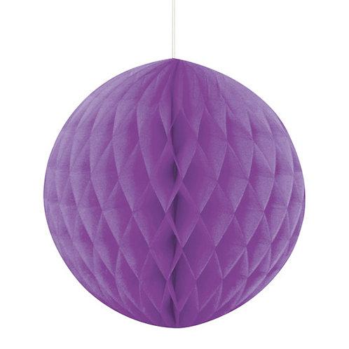 Purple Honeycomb Ball