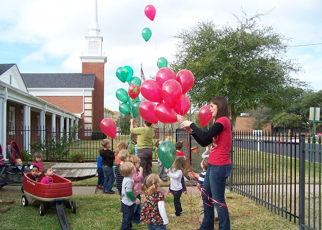 balloons for Jesus