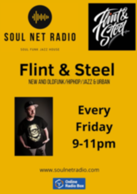 Flint & Steel 9 - 11pm New and Old Funk_