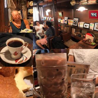古民家カフェで作品展『やじろべえ珈琲店』
