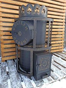 Печь для бани Феникс 25 с теплообменником