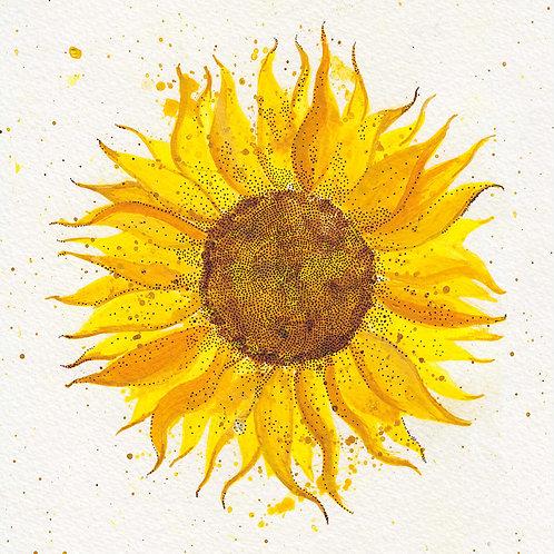 """Sunflower 2"" Postcard *PRE-ORDER*"