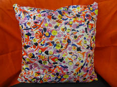 """Cushion from """"Home"""" exhibition"""