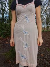 Embroidered Koi Dress