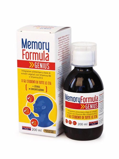 Memori Formula Genius 200  ml