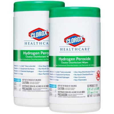 Clorox Hydrogen Peroxide Wipes
