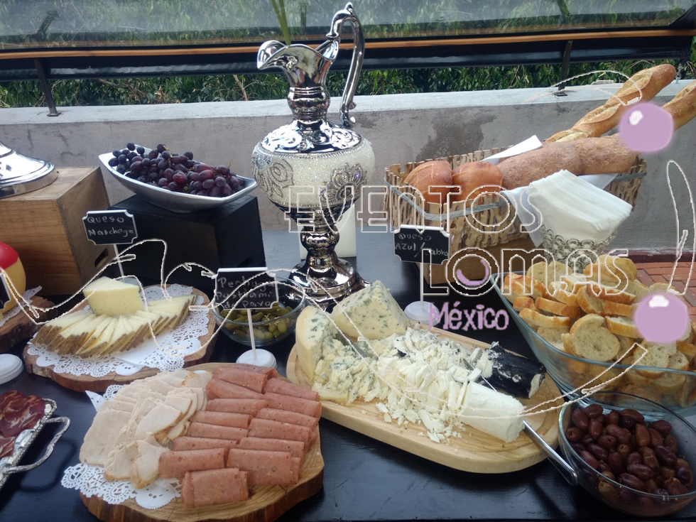 Mesas de quesos para eventos