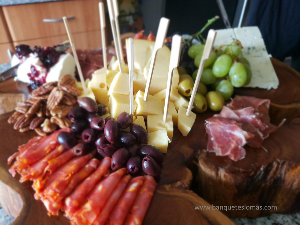 quesos para eventos