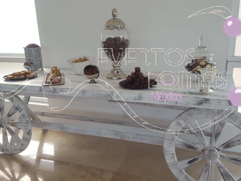 mesas de dulces para eventos