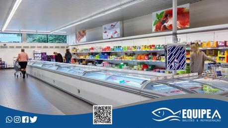 Ilha de congelamento: qual a sua importância para os supermercados?
