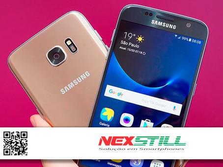 Galaxy S7 recebe atualização de segurança cinco anos após lançamento
