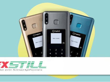 PagSeguro lança PagPhone, celular com maquininha de cartão integrada: